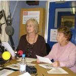 Oxtalk volunteers recording the news